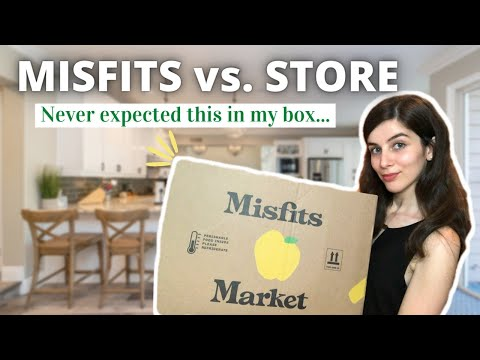 Is Misfits Market worth it? | Price Comparison vs Store | Unboxing Review