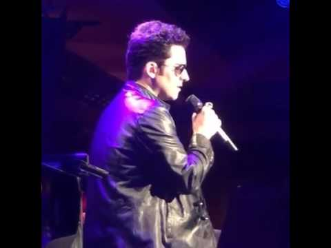 John Lloyd Young  at Feinstein's 54 Below  Sherry , Unchained Melody