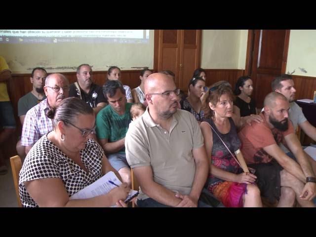 Sesión ordinaria del pleno de San Bartolomé del 25-07-16
