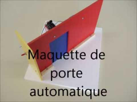 Porte coulissante automatique youtube for Porte coulissante