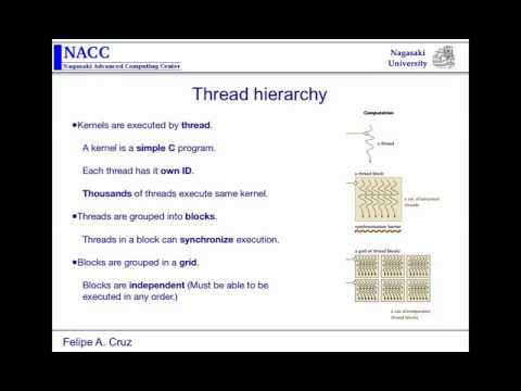 GPU Computing and programming (2)