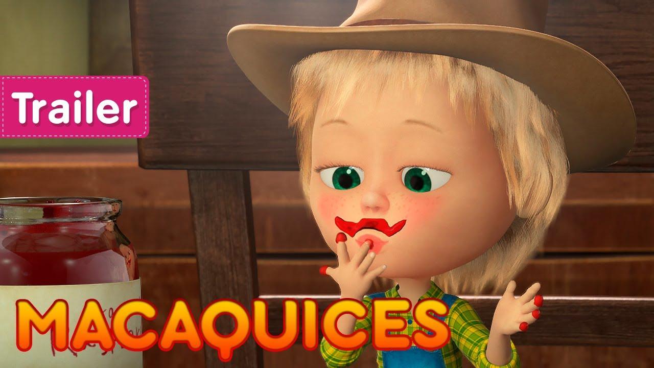 Masha e o Urso 💥 18 de setembro 👱♀️ Macaquices 🙊🐵 (Trailer)