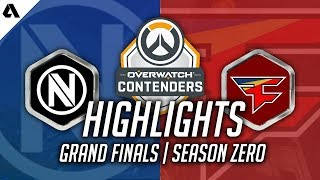 Overwatch Gameplay   Finals With Seagull EnVyUs VS FaZe ft Pharah Junkrat EFFECT Taimou   Contenders