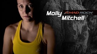 Molly Mitchell - FA of Spoiled Moose 5.13 R