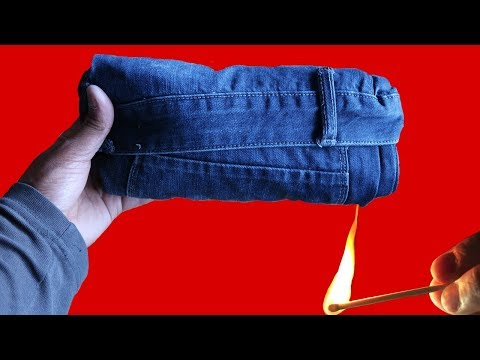 How to Fold Jeans for Travel (New Year Holidays Special Edition)