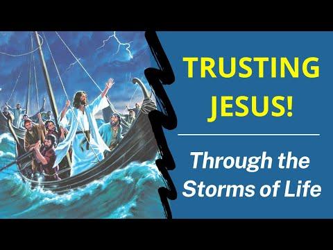 Catholic Bible Teachings - Trusting Jesus in the Storm