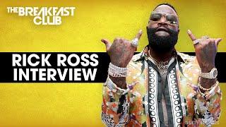 Rick Ross Talks Big Boss Tips, Finding A Good Woman, Drake & Kanye Beef, New Book + More