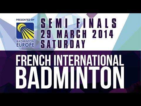 SF - MS - Vladimir Malkov vs Dmytro Zavadsky - 2014 French International