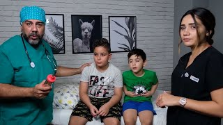 مسلسلات حديدية مضحكة !! سلسلة قصص شيقة مع والدة دمير ووالدها demir