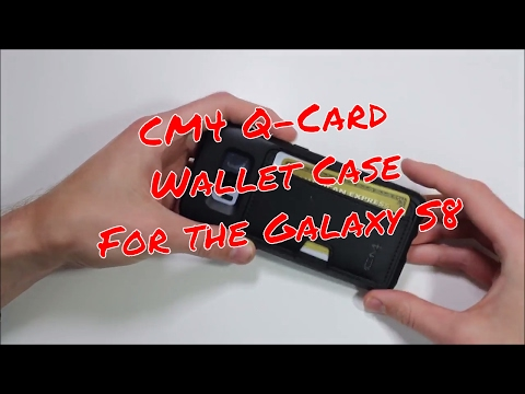 brand new 32a4c dc0eb CM4 Q-Card Wallet Case for the Galaxy S8! - YouTube