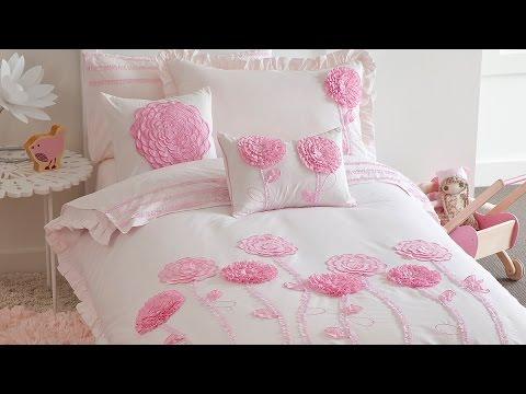 Floret Pink Bedding - Kids Bedding Dreams