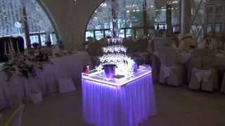 """Стол для """"горки шампанского"""" от Trendy-Bar http://vk.com/trendybar"""