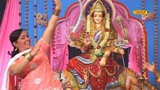 Mata Bhajan - Aand Rang Barse Jagdambe Ke Darbar   Rajbala Bahadurgad   Haryanvi Ragni