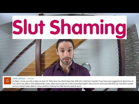 Slutshaming - The Truth About Slut Shaming - Ask Mark #18