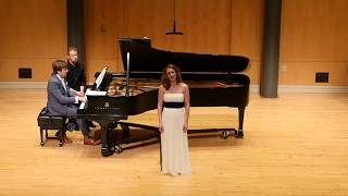 Debussy: Le Balcon, from '5 Poèmes de Baudelaire' Jaely Chamberlain/Andrew Welch