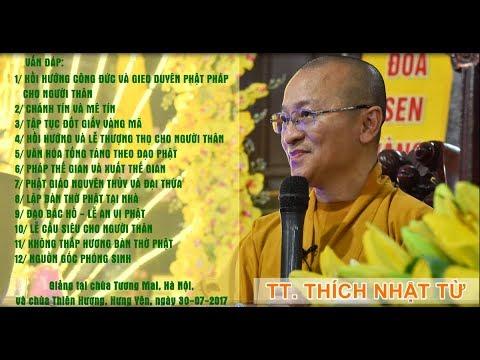 Vấn đáp: Chánh tín và mê tín - Văn hóa tống táng theo đạo Phật - TT. Thích Nhật Từ