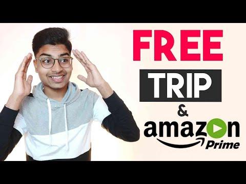 FREE Amazon Prime Video Membership & Free Trip | Best App For Explorers