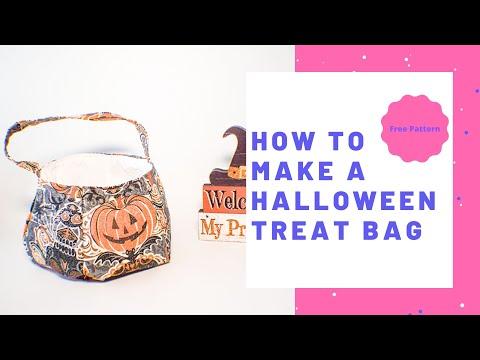 How to Make Halloween Treat Basket