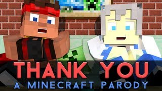 "♫ ""Thank You!"" - A Minecraft Parody of MKTO's Thank You (Music Video) thumbnail"