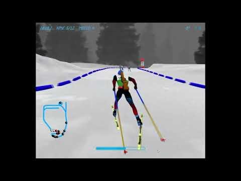 NGL Biathlon - одиночная смешанная эстафета