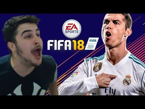 JOGANDO FIFA 18 PELA PRIMEIRA VEZ - GAMEPLAY DA DEMO