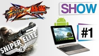 GeekWorld #1: Asus Transformer Prime - Sniper Elite V2 - Street Fighter X Tekken