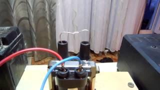 зажигание  на микроконтроллере pic16f676 видео с искрами