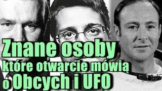 Kosmici i pojazdy UFO zdaniem znanych ludzi!