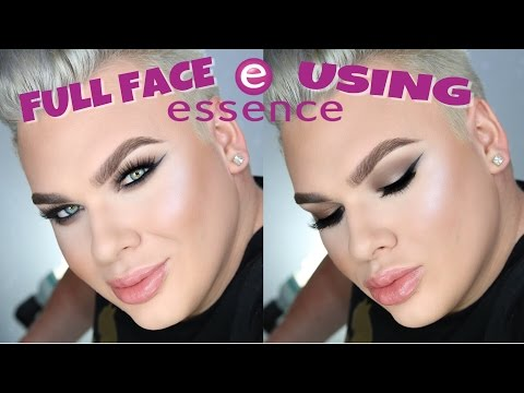 FULL FACE USING ESSENCE MAKEUP!