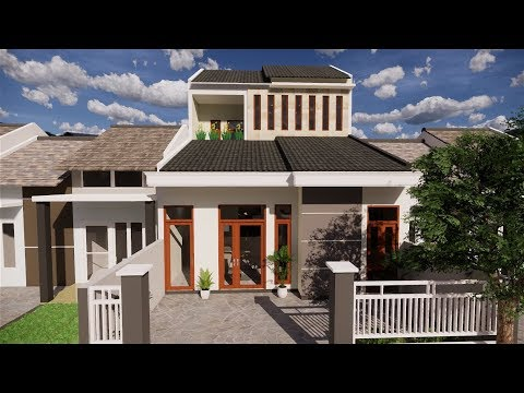 rumah 36 renov 1,5 lantai 3 kamar tidur + mushola - youtube