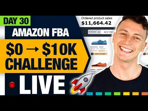 AMAZON FBA $10,000 CHALLENGE 🚀 (Day 30) Leveraging Influencer Marketing is INSANELY Underpriced!