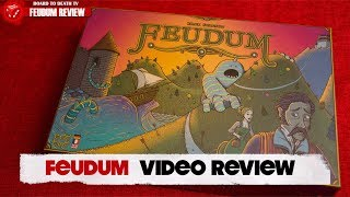 Feudum Board Game Review Video
