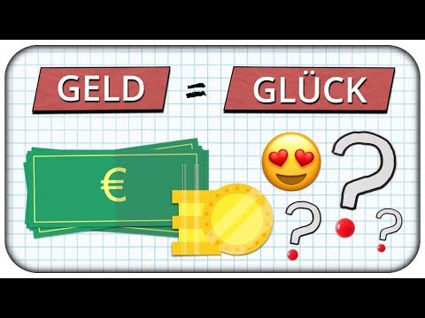 Wie viel Geld macht dich glücklich? Auf der Suche nach dem Glück