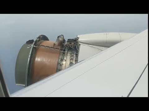United #UA1175 To Honolulu declared an emergency due to serious engine problem over Pacific