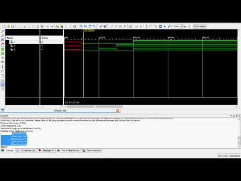 How to use Xilinx Software/ Verilog HDL Program for AND gate