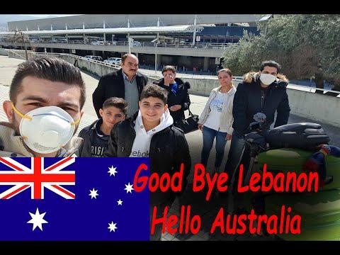 Good Bye Lebanon- Hello Australia