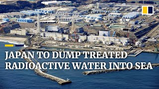 Japan's plan to release radioactive water from Fukushima nuclear plant into sea sparks outrage
