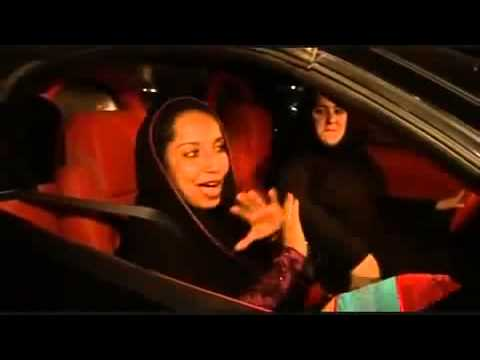 Emirates Lady in Ferrari أماراتية تقود الفيراري