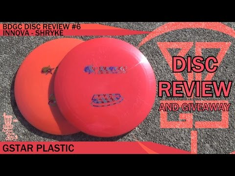 BDGC Disc Review #6: Innova - Shryke (Giveaway ended 1/30)