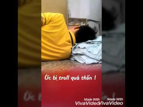 Ốc bị troll khi đang ngủ quá thốn - THN