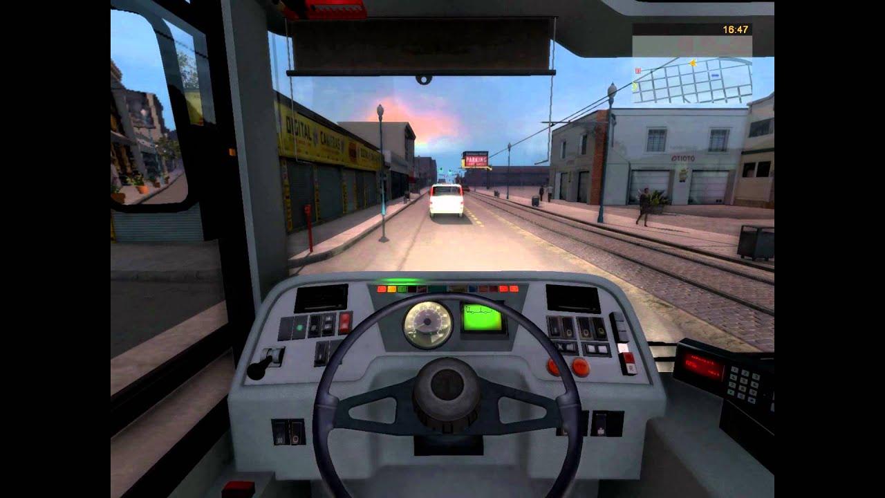 Bus and Cable Car Simulator San Francisco