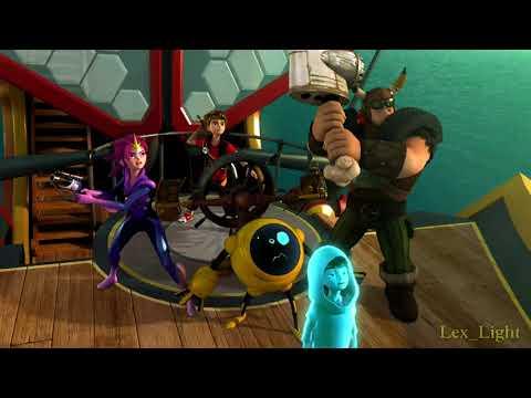 Zak Storm: Super Pirate - Cabecera (Español de España) -1080p-