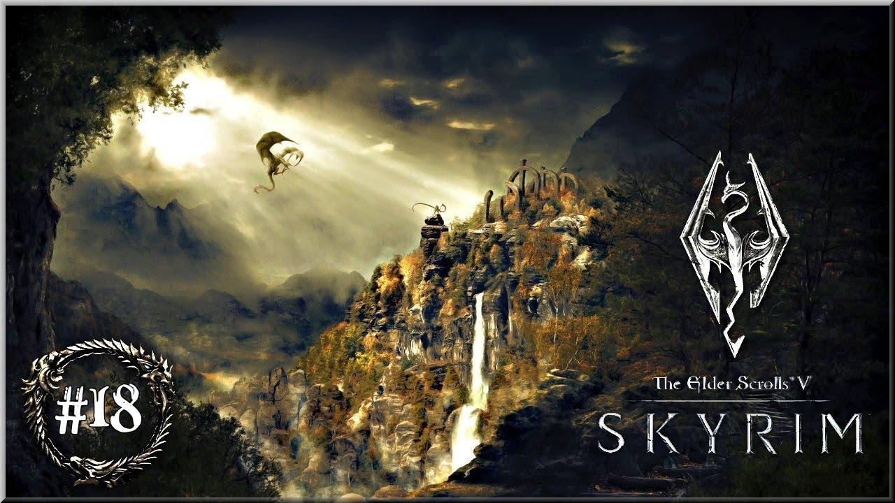 """T.E.S. V Skyrim – #18 """"Gra o tron"""""""