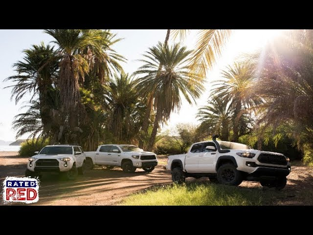 The All New 2019 Toyota TRD Pro Series Has Arrived