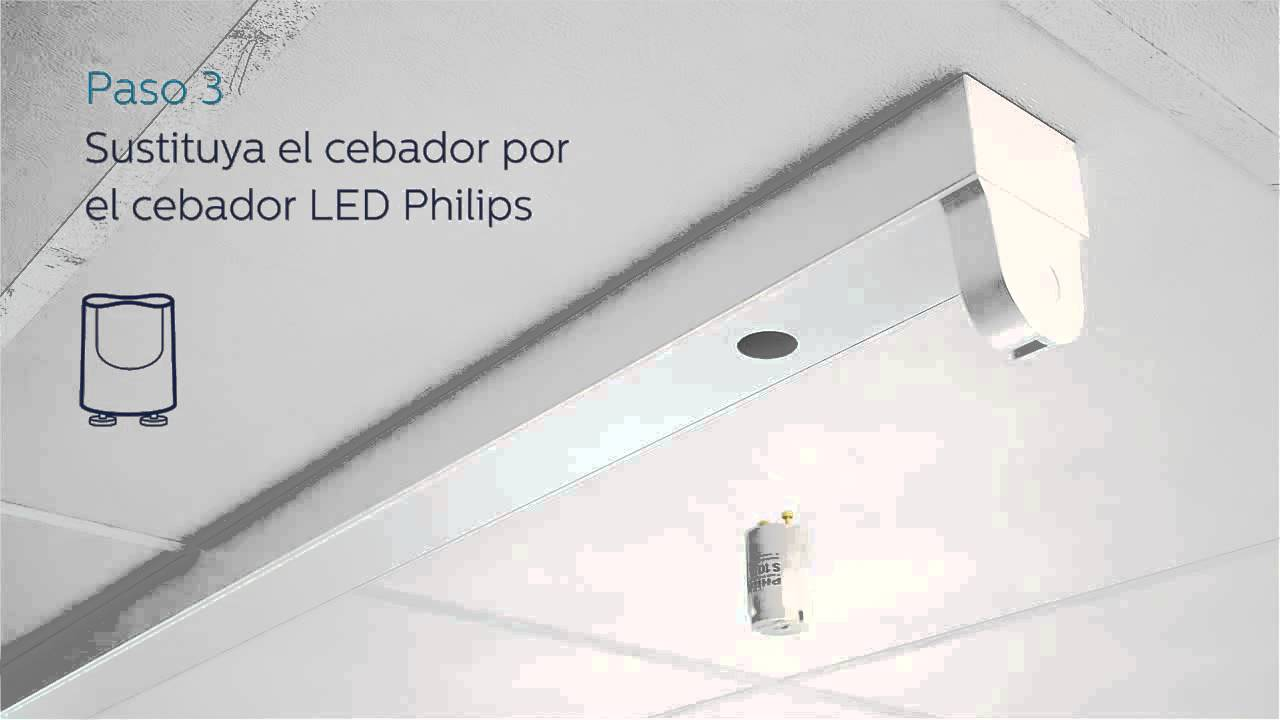 Philips gu a de instalaci n del tubo led basada en - Como instalar lamparas led ...