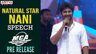 Hero Nani Speech @ MCA Pre Release Event || Nani, Sai Pallavi || DSP