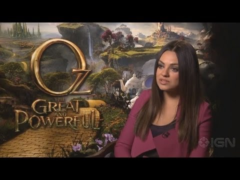 Oz The Great And Powerful - Cast Interviews