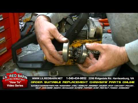 How to replace a sprocket on a poulan chainsaw youtube keyboard keysfo Images