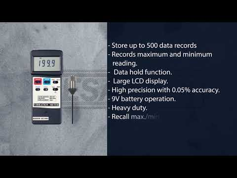 BESANTEK BST-VM02 Industrial Heavy Duty Vibration Meter