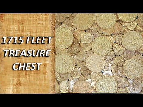 1715 Fleet Treasure Chest   MEL
